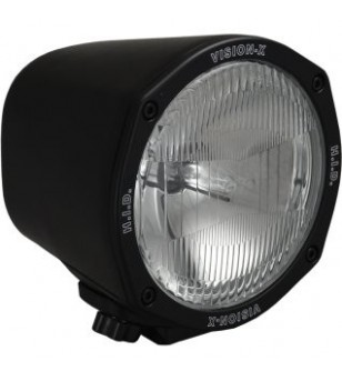 Vision-X 5 inch ROUND BLACK 35 WATT HID FLOOD LAMP 9-32V DC EA