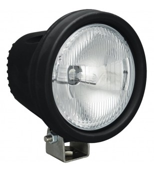 5.5 inch ROUND BLACK 35 WATT HID FLOOD LAMP 9-32V DC EA
