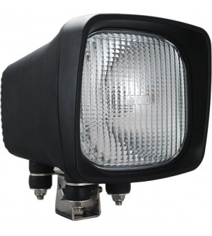 6 inch X 6 inch SQUARE BLACK 50 WATT HID FLOOD LAMP 9-32V DC EA - HID-6601 - Lighting - Vision X HID
