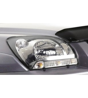 Sportage 05-09 Headlamp Protectors carbon fiber - 218030cf - Other accessories - Unspecified
