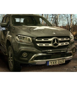 Q-LED Mercedes X-Class 18- - QL90101 - Bullbar / Lightbar / Bumperbar - QPAX Q-Led - Verstralershop