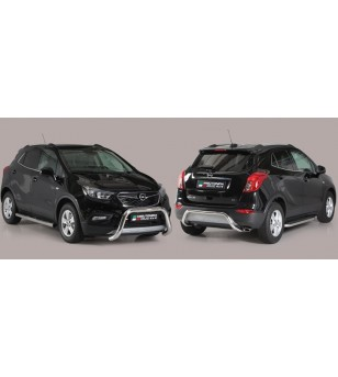 Opel Mokka X 2016- Rear Protection