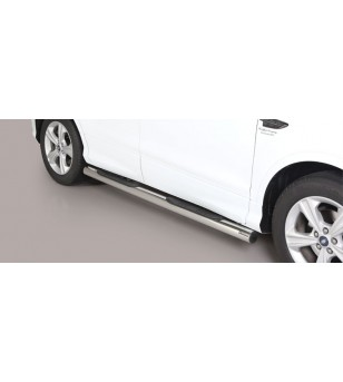 Kuga 17- Grand Pedana (Side Bars With steps) inox - GP/420/IX - Sidebar / Sidestep - Unspecified