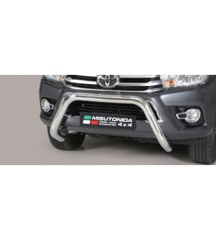 TOYOTA HILUX 16+ EC Approved Super Bar Inox - EC/SB/410/IX - Bullbar / Lightbar / Bumperbar - Unspecified