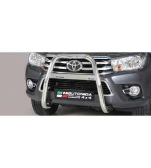 TOYOTA HILUX 16+ High Medium Bar Inox - MA/410/IX - Bullbar / Lightbar / Bumperbar - Unspecified