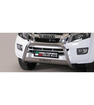 D-Max 17- Medium Bar ø63 Inscripted EU - EC/MED/K/314/IX - Bullbar / Lightbar / Bumperbar - Unspecified