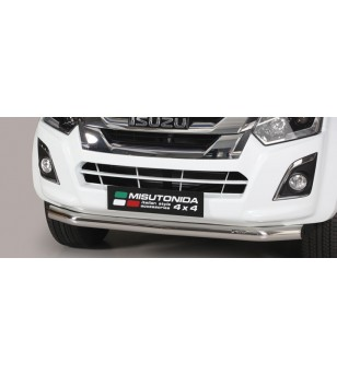 D-Max 17- Slash Bar ø76 - SLF/314/IX - Bullbar / Lightbar / Bumperbar - Unspecified
