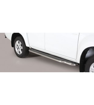 D-Max 17- Double Cab Side Steps - P/314/IX - Sidebar / Sidestep - Unspecified