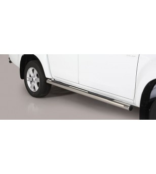 D-Max 17- Double Cab Grand Pedana ø76 - GP/314/IX - Sidebar / Sidestep - Unspecified