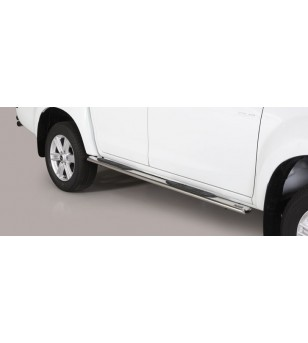 D-Max 17- Double Cab Grand Pedana Oval - GPO/314/IX - Sidebar / Sidestep - Unspecified