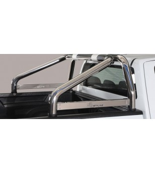 D-Max 17- Roll Bar on Tonneau - 2 pipes - RLSS/2314/IX - Rollbars / Sportsbars - Unspecified