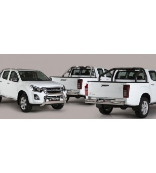 Isuzu D-Max 2017- Roll Bar on Tonneau - 3 pipes