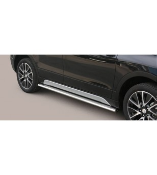 SX4 S-Cross 13- Oval Side Protection - TPSO/357/IX - Sidebar / Sidestep - Verstralershop