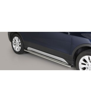 SX4 S-Cross 17- Oval Side Protection - TPSO/357/IX - Sidebar / Sidestep - Unspecified