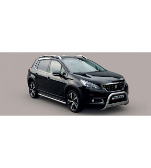 Peugeot 2008 2016- EC Approved Medium Bar Inox