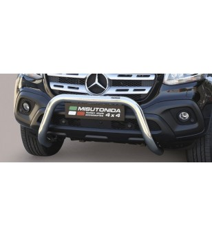 X-Klasse 17- EC Approved Super Bar Inox - EC/SB/428/IX - Bullbar / Lightbar / Bumperbar - Unspecified - Verstralershop