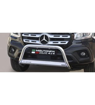 X-Klasse 17- Medium Bar Inox - MED/428/IX - Bullbar / Lightbar / Bumperbar - Unspecified