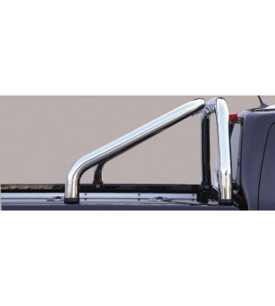 X-Klasse 17- Roll Bar on Tonneau Inox (2 pipes version) - RLSS/2428/IX - Rollbars / Sportsbars - Unspecified