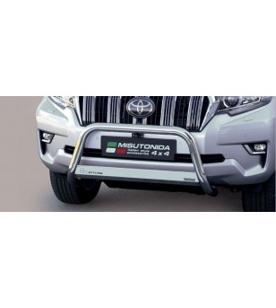 Landcruiser 2018- EC Approved Medium Bar Inox - EC/MED/430/IX - Bullbar / Lightbar / Bumperbar - Unspecified