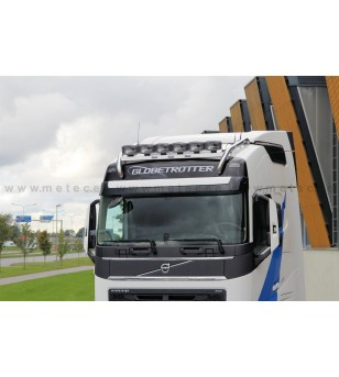 VOLVO FH 13+ LAMP HOLDER ROOFTOP CROSSBAR, MIDDLE, GLOBE + GLOBE XL LED 6x lamp fixings cable pcs