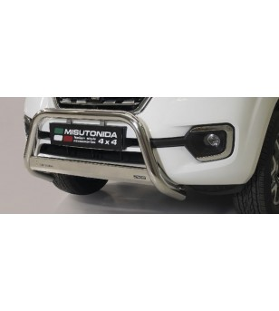 Alaskan 18- EC Approved Medium Bar Inox - EC/MED/432/IX - Bullbar / Lightbar / Bumperbar - Verstralershop