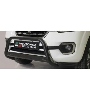Alaskan 18- EC Approved Medium Bar Inox Black Coated - EC/MED/432/PL - Bullbar / Lightbar / Bumperbar - Unspecified