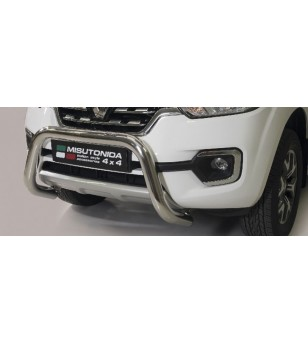 Alaskan 18- EC Approved Super Bar Inox - EC/SB/432/IX - Bullbar / Lightbar / Bumperbar - Verstralershop