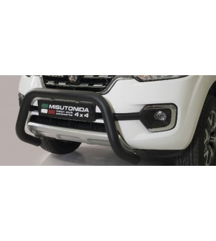 Alaskan 18- EC Approved Super Bar Inox Black Coated - EC/SB/432/PL - Bullbar / Lightbar / Bumperbar - Verstralershop