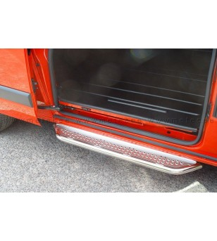 FORD TRANSIT CUSTOM 13+ RUNNING BOARDS VAN TOUR for sliding door L1L2 - 888601TTC-S - Sidebar / Sidestep - Metec Van