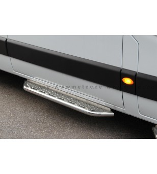 OPEL MOVANO 10+ RUNNING BOARDS VAN TOUR for sliding door pcs - 888601MM-S - Sidebar / Sidestep - Metec Van