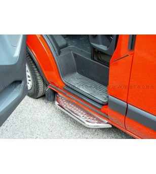 FORD TRANSIT CUSTOM 13+ RUNNING BOARDS VAN TOUR front door - WB L1 & L2 - 807318 - Sidebar / Sidestep - Verstralershop