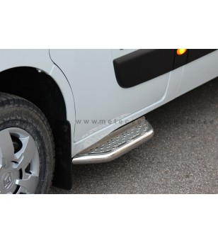 OPEL MOVANO 10+ RUNNING BOARDS VAN TOUR front door pcs