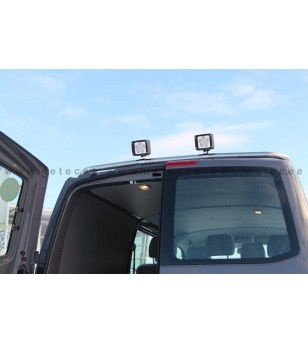 VW T5 03-15 LAMP HOLDER WORKING LIGHTS 2x lamp fixings pcs - 888498T56 - Roofbar / Roofrails - Metec Van