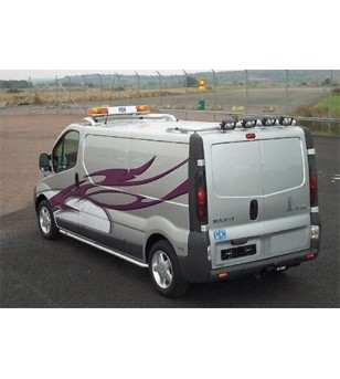 Renault Trafic 02-14 T-Rack H1 rear - SALE - OPRUIMING - TB90026 AB - Roofbar / Roofrails - QPAX T-Rack