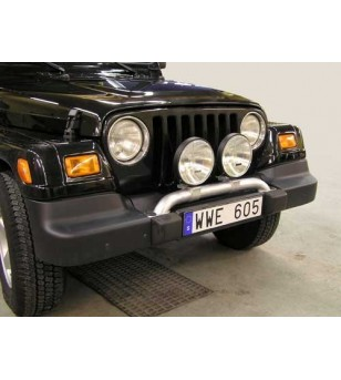 Jeep Wrangler 05- X-Rack - SALE - OPRUIMING - X900021 AB - Bullbar / Lightbar / Bumperbar - QPAX X-Rack