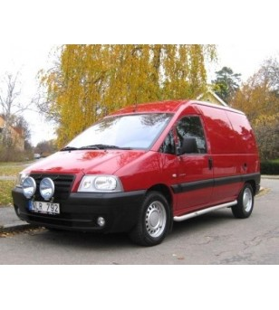 Citroen Jumpy 97-06 S-Bar L1 - SALE - OPRUIMING - S900006 AB - Sidebar / Sidestep - QPAX S-Bar