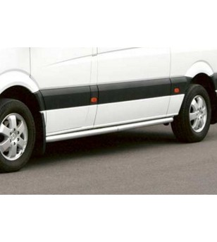 Mercedes Sprinter 07- S-Bar L2 - SALE - S900021 AB - Sidebar / Sidestep - QPAX S-Bar