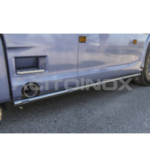 SCANIA R/S Serie 16+ SIDE BAR 60 – LEFT SIDE - BA008SNS - Sidebar / Sidestep - Acitoinox - Italian series