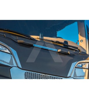 SCANIA R/S Serie 16+ GLASS HANDLES APPLICATIONS - AP020SNS - Stainless / Chrome accessories - Acitoinox - Italian series