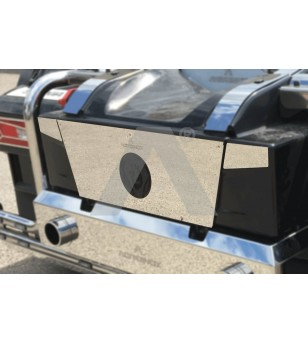 SCANIA R/S Serie 16+ CARTER BATTERY COVER - AP028SNS - Stainless / Chrome accessories - Verstralershop