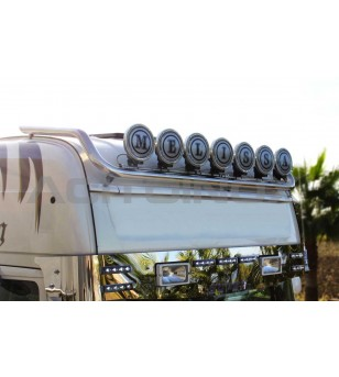 SCANIA ROOF LIGHT BAR - 002S - Roofbar / Roofrails - Acitoinox - Italian series - Verstralershop