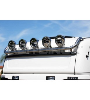 SCANIA SHORT TOP BAR - 002SC - Roofbar / Roofrails - Acitoinox - Italian series - Verstralershop