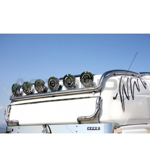 SCANIA ROOF LIGHT BAR LONG VERSION - 004S - Roofbar / Roofrails - Acitoinox - Italian series - Verstralershop