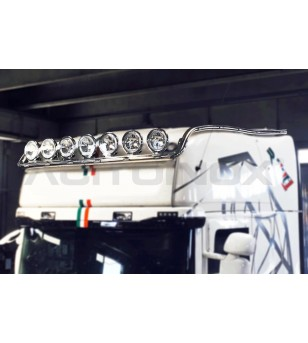 SCANIA ROOF LIGHT BAR EXTRA LONG VERSION - 004S2 - Roofbar / Roofrails - Acitoinox - Italian series