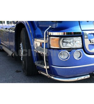 SCANIA SIDE TUBES - 050S - RVS / Chrome accessoires - Acitoinox - Italian series