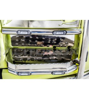 SCANIA CABIN STEP BARS - SCANIA R, NEW R, STREAMLINE - 096SNR - RVS / Chrome accessoires - Acitoinox - Italian series