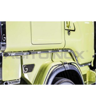 SCANIA DOOR BAR - SCANIA R, NEW R, STREAMLINE - 099SNR - RVS / Chrome accessoires - Acitoinox - Italian series - Verstralershop