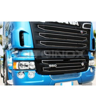 SCANIA MASK COVER KIT - SCANIA NEW R, STREAMLINE - 011SNR2 - Grille - Acitoinox - Italian series