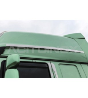 DAF XF 105, XF 106 Lateral Applications for Cabin - 004D - Stainless / Chrome accessories - Acitoinox - Italian series