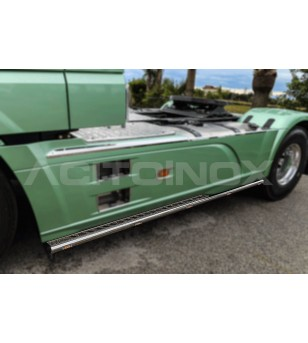DAF XF 106 Skirt Side Bar Special - Left Side - 003DXF106SP - Sidebar / Sidestep - Acitoinox - Italian series